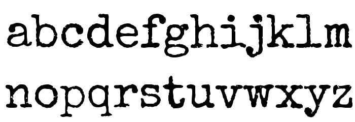 Special Elite 字体 小写