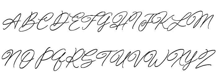 Special Touch Schriftart Groß