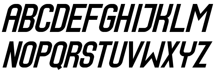 Speed2 Font LOWERCASE
