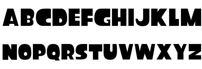 Splatfont フォント 大文字