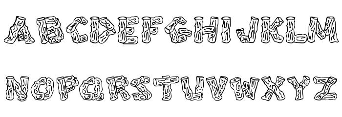 Splinters JL Шрифта строчной