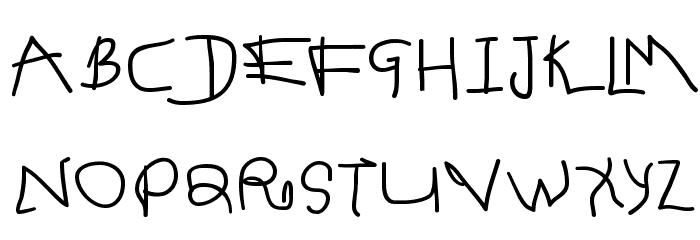 Spontifex Font UPPERCASE