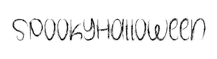 SpookyHalloween  Скачать бесплатные шрифты