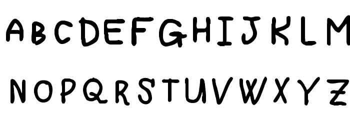 Spreadthedespair Regular Fonty Font UPPERCASE