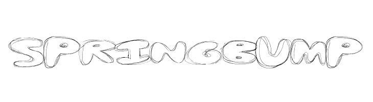SpringBump  Скачать бесплатные шрифты