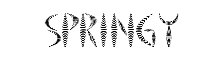 Springy  Free Fonts Download