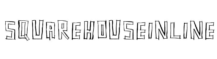 SquarehouseInline  Скачать бесплатные шрифты