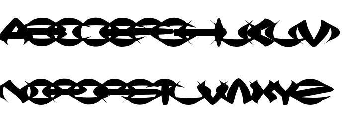 Squish Шрифта строчной