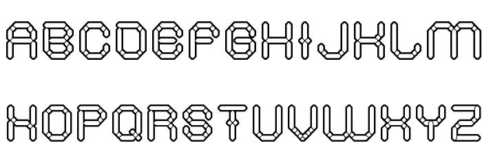 STONE ROCK Font UPPERCASE