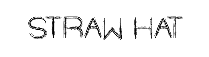 STRAW HAT  Free Fonts Download