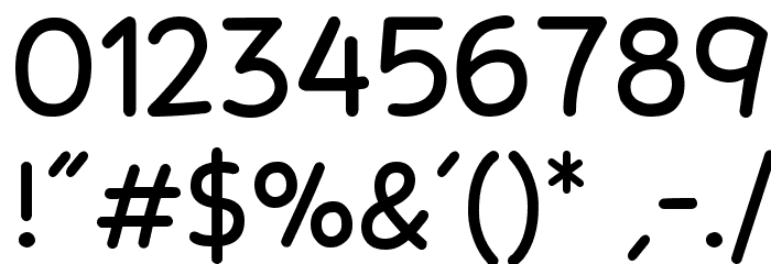 Stanberry Regular Font OTHER CHARS