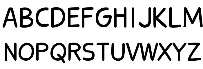 Stanberry Regular Font UPPERCASE