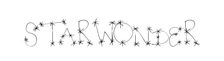 StarWonder  Free Fonts Download