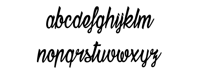 Stardust Font LOWERCASE