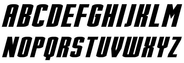 Stark Italic Font Litere mari