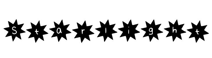 Starlight  baixar fontes gratis