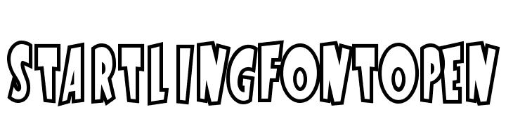 StartlingFontOpen  Free Fonts Download