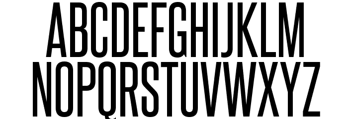 SteelfishRg-Regular Font UPPERCASE