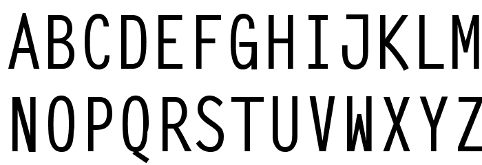 SteepTypewriterMedium फ़ॉन्ट अपरकेस