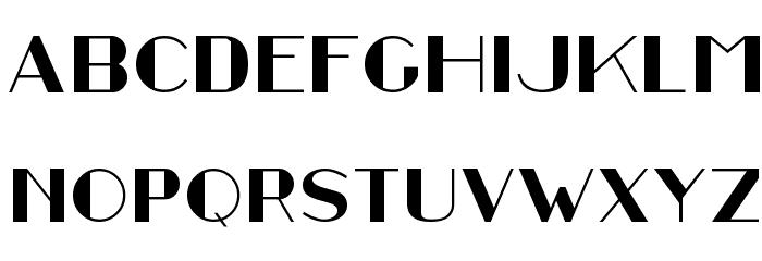 Stefan Regular Font UPPERCASE