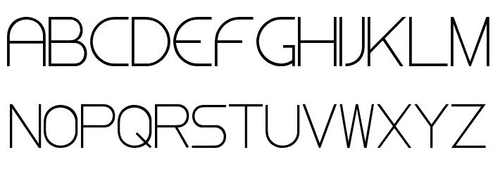 Steiner Light Font UPPERCASE