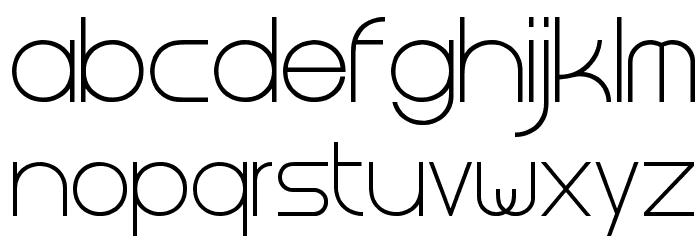 Steiner Light Font LOWERCASE