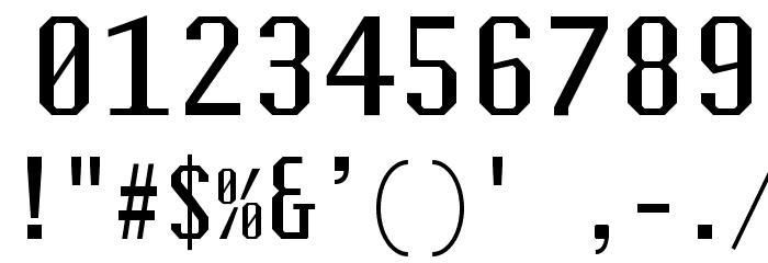 Steps-Mono Mono Font OTHER CHARS