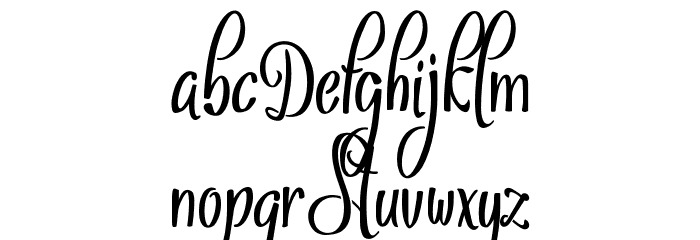 Sthencyl Demo Font OTHER CHARS
