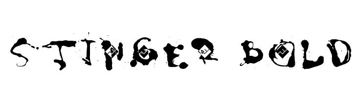 Stinger Bold  Frei Schriftart Herunterladen