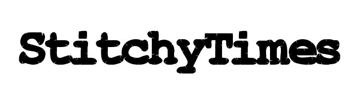 StitchyTimes  baixar fontes gratis