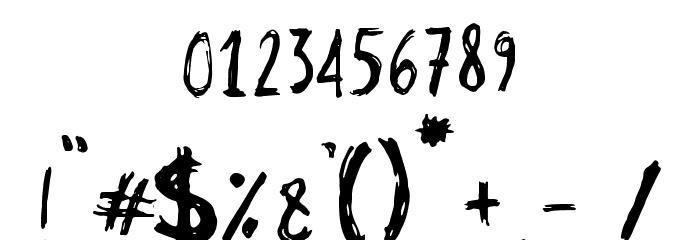 Stobau フォント その他の文字