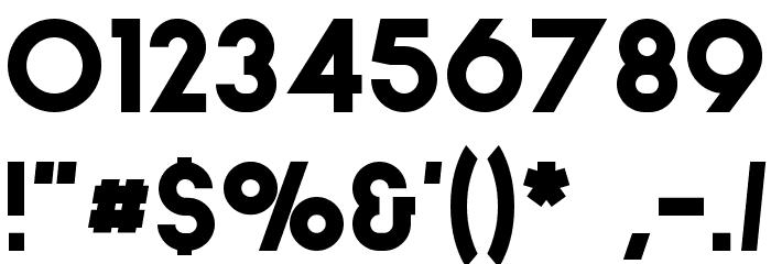 Stockholm Шрифта ДРУГИЕ символов