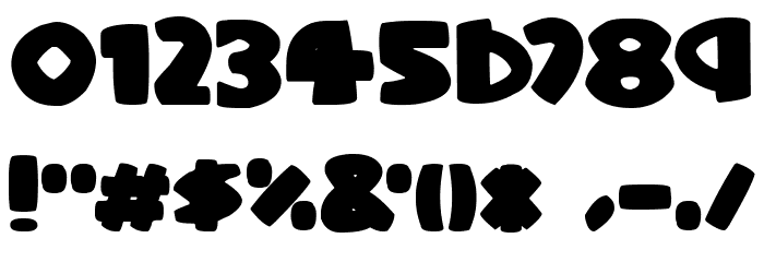 Stompy Italic Font OTHER CHARS