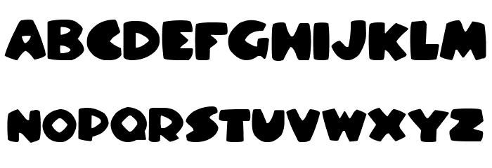 Stompy Italic Font UPPERCASE
