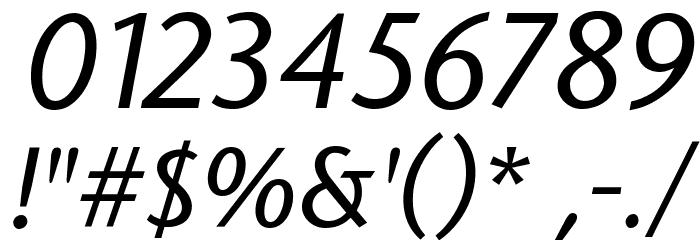 StoneSans Italic Font OTHER CHARS