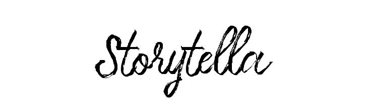Storytella  Free Fonts Download
