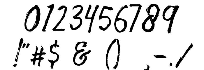 Storytella Шрифта ДРУГИЕ символов