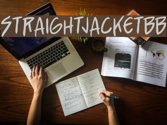 StraightJacketBB لخطوط تنزيل examples