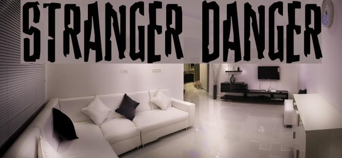 Stranger Danger Font examples