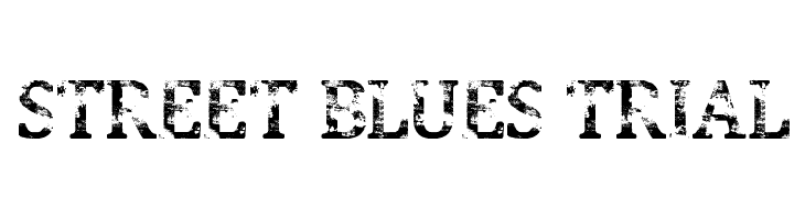 Street Blues Trial  Free Fonts Download