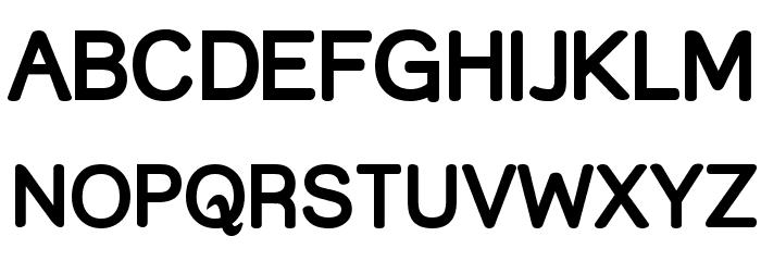 Street Bold Font UPPERCASE