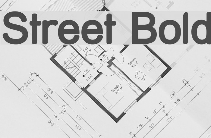 Street Bold Font examples