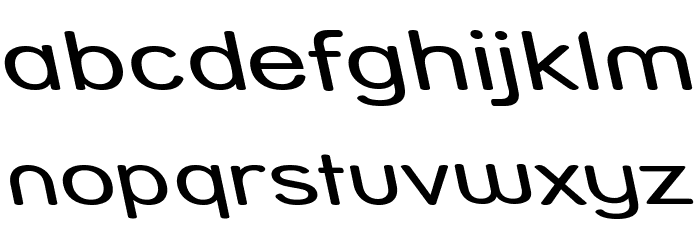 Street - Compressed Reverse Italic Font LOWERCASE