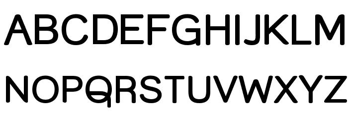 Street Corner Bold Font UPPERCASE