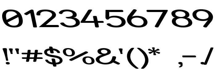 Street - Expanded Reverse Italic Font OTHER CHARS