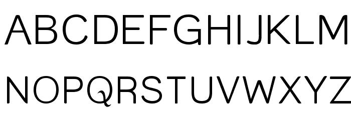 Street  Light Font UPPERCASE