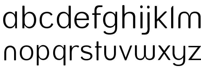 Street  Light Font LOWERCASE