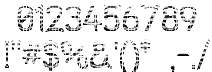 Street Net Font OTHER CHARS