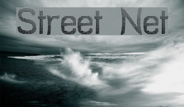 Street Net Font examples