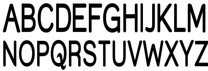 Street  SemiBold Thin Font UPPERCASE